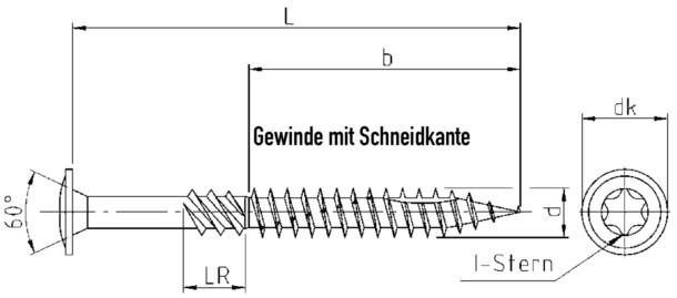 Holzbauschraube