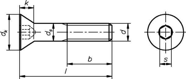 innensechskantschraube 8 0x70mm ix m8 din7991 galvanisch verzinkt 8 8 senkschraube sonderpreis. Black Bedroom Furniture Sets. Home Design Ideas